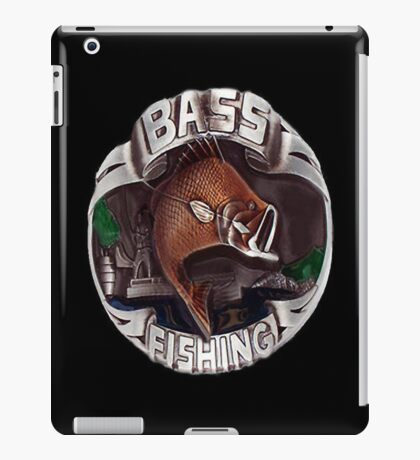 <º))))><     BASS FISHING IPAD CASE <º))))><     iPad Case/Skin