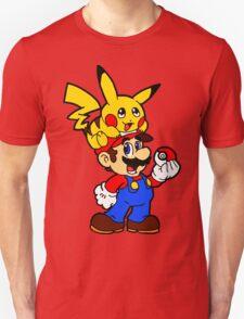 Mario and Pikachu T-Shirt