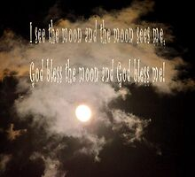 God Bless the Moon by Maria P Urso