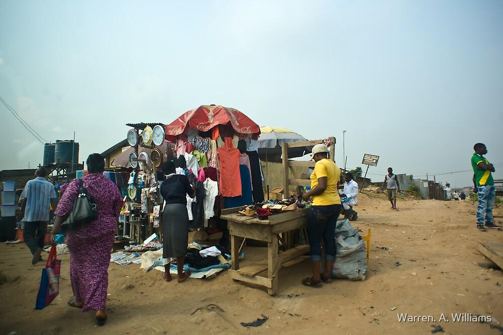 Street Shops Lagos 2 by Warren. A. Williams
