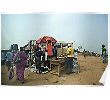 Street Shops Lagos 2 Poster