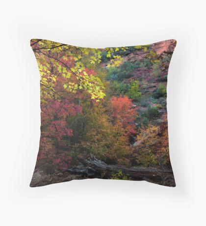 Autumn Gratitude Throw Pillow