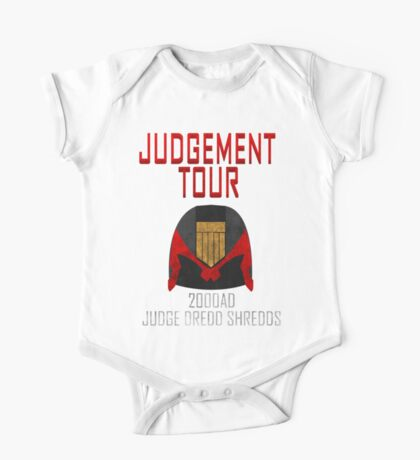 Judge Dredd Shredds One Piece - Short Sleeve