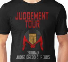 Judge Dredd Shredds Unisex T-Shirt