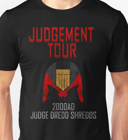 Judge Dredd Shredds Unisex T-Shirt