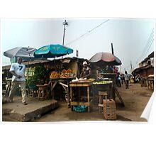 Street Shops Lagos 5 Poster