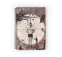 Anatomy of Creation Spiral Notebook