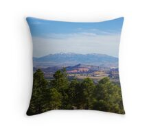 From Highway 12, Utah Throw Pillow