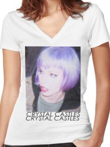Alice Glass Women's Fitted V-Neck T-Shirt