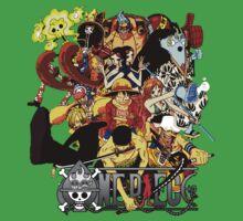 One Piece crew Kids Clothes