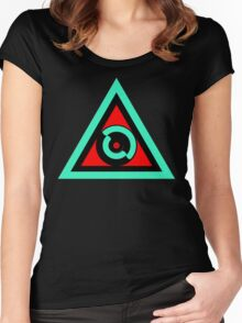 Didactically Illuminated Women's Fitted Scoop T-Shirt