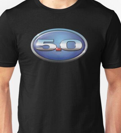5.0 Oval Unisex T-Shirt