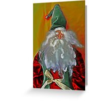 Santa Claus, I Swear! Greeting Card