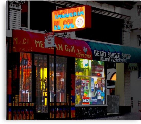 Taqueria - Smoke Shop by David Denny
