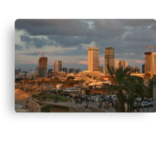 Tel- Aviv - jaffa Canvas Print