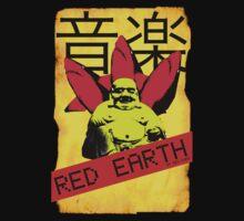 Red Earth (Buddha) by Rea Dora by readora