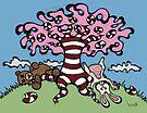Teddy Bear And Bunny - Sugar Crash 3 by Brett Gilbert