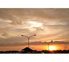 Sunsetting Photographic Print