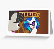 Vinyl's new make-WUB-over Greeting Card