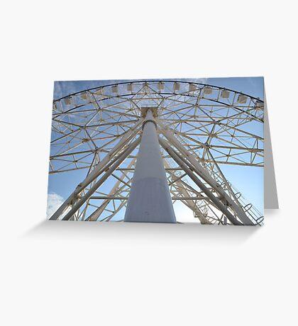 Ferris Symmetry Greeting Card