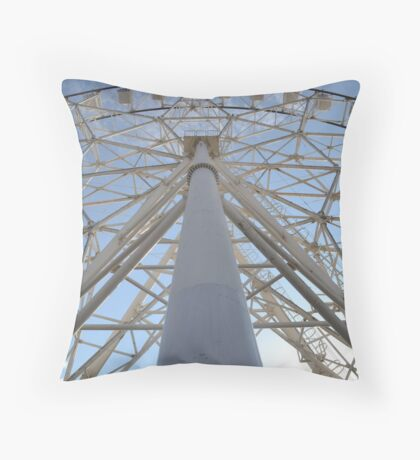 Ferris Symmetry Throw Pillow