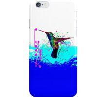 hummingbird Program iPhone Case/Skin