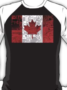 circuit board Canada (Flag) T-Shirt