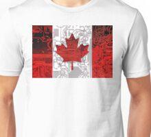 circuit board Canada (Flag) Unisex T-Shirt