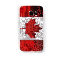 circuit board Canada (Flag) Samsung Galaxy Case/Skin