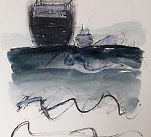 Navigating the Rip No.2 by ROSEMARY EAGLE