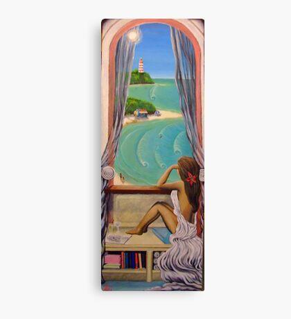 My window Canvas Print