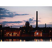 night cityscape Photographic Print