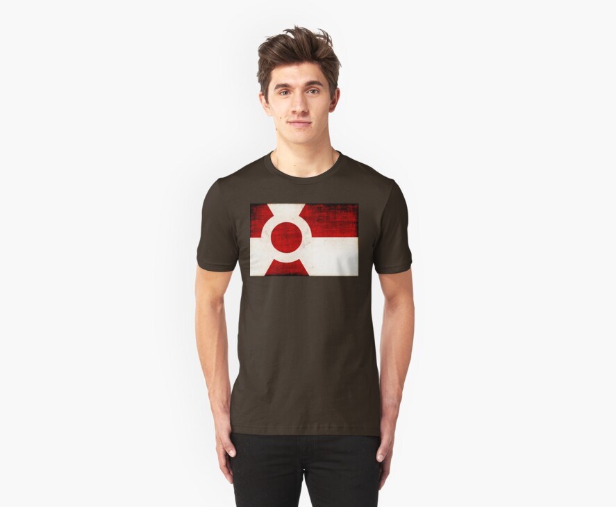 Land of the Rising Radiation T-Shirt by John Ayo