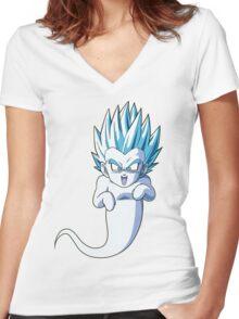 Gotenks Kamikaze Ghost Women's Fitted V-Neck T-Shirt