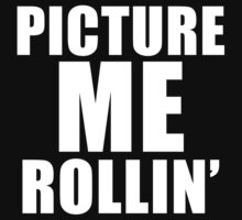 Picture Me Rollin' One Piece - Short Sleeve