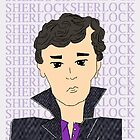 Sherlock cartoon by SherlockReader1
