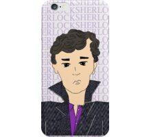 Sherlock cartoon iPhone Case/Skin