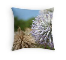Little Flowers, Big Colours Throw Pillow