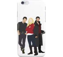Neal, Emma, and Hook iPhone Case/Skin