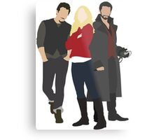 Neal, Emma, and Hook Metal Print