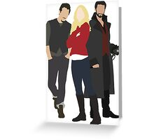 Neal, Emma, and Hook Greeting Card