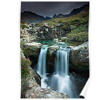 Isle of Skye : Twin Fairy Falls Poster