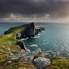 Isle of Skye : Niest Point Showers by Angie Latham