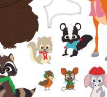 Woodland Critter Christmas (South Park) 2.0 Sticker