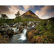 Scotland: Summer on Buachaille Etive Mor Photographic Print