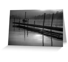 Mist on Loch Ness Greeting Card