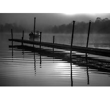 Mist on Loch Ness Photographic Print