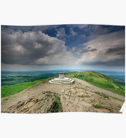 Malvern Hills : On top of the Shire Poster