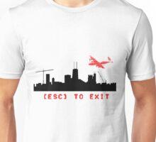 ESC to Exit Unisex T-Shirt