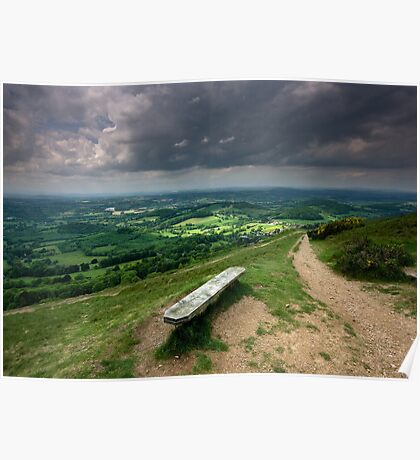 Malvern Hills: How Green is my Shire Poster